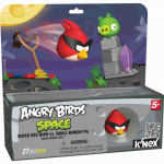 ANGRY BIRDS KNEX SUPER RED BIRD VS PIG T72049 PAK.4